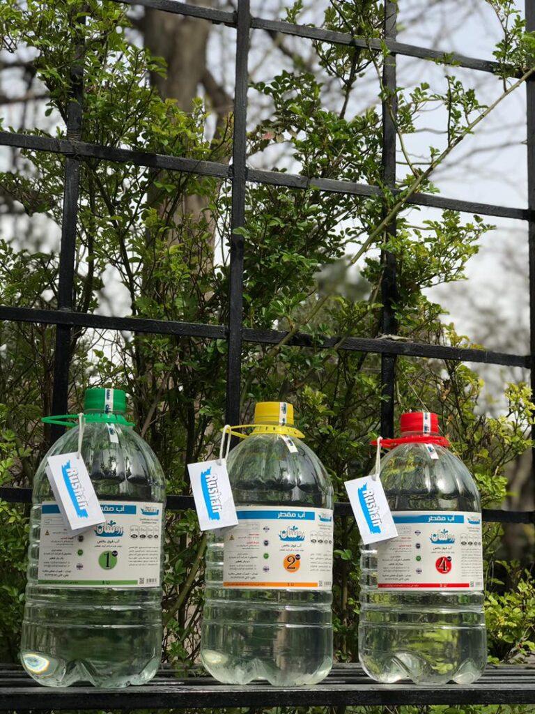 روش های تولید آب مقطر